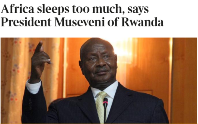 Nta bwo babeshya birazwi yuko Museveni ariwe perezida w'uRwanda kuko yimika uwo ashaka agakuraho uwo adashaka!