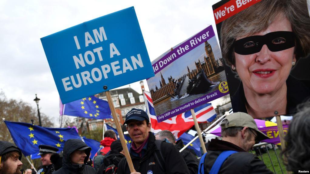 Gahunda ya Brexit mu Mayira Abiri
