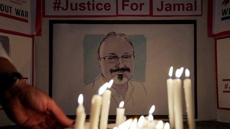 Abashinjwa kwica Jamal Khashoggi bari mu bafatiwe ibihano n'Ubwongereza